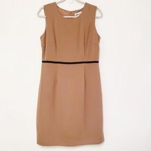 Danny & Nicole Sleeveless Sheath Dress. Size 8